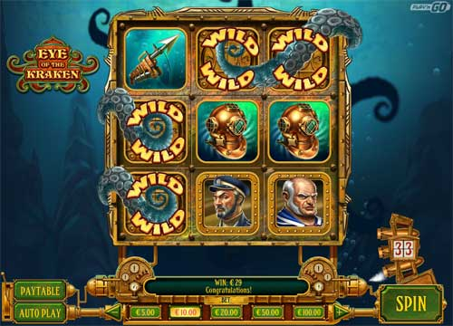 Eye of the Kraken casino slot