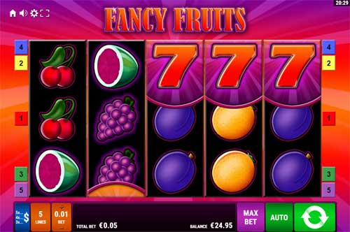 Fancy Fruits videoslot
