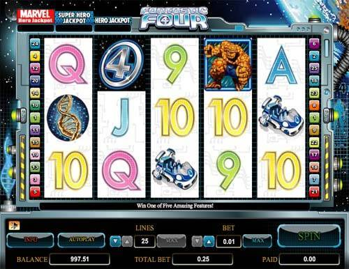 Fantastic Four free slot
