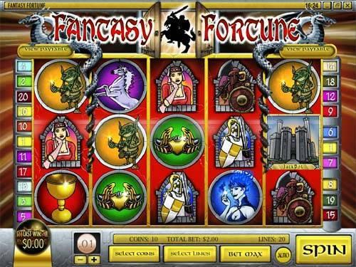 Fantasy Fortune videoslot