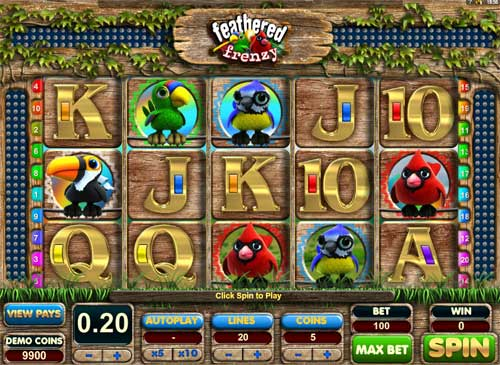 Feathered Frenzy Slot casino slot