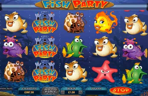 Fish Party videoslot