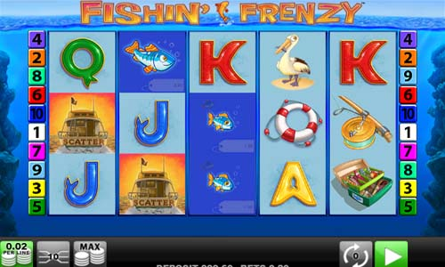 Fishin Frenzy free slot