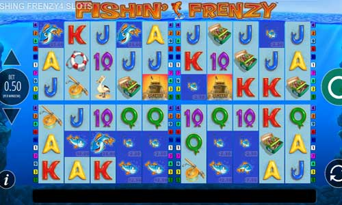 Fishin Frenzy Power 4 Slots slot