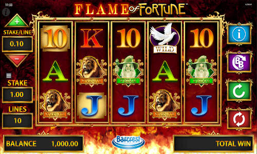 Flame of Fortune videoslot