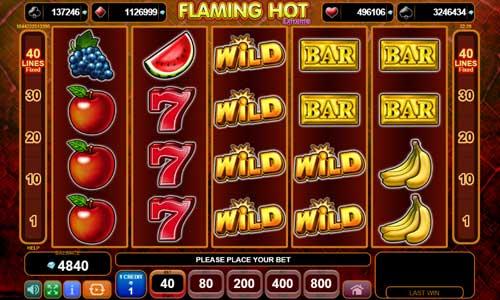 Flaming Hot Extreme slot