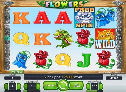Flowers videoslot