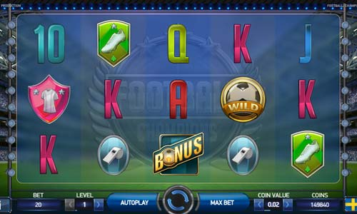 free online casino slot champions cup football