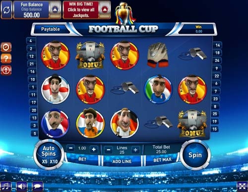 Football Cup videoslot