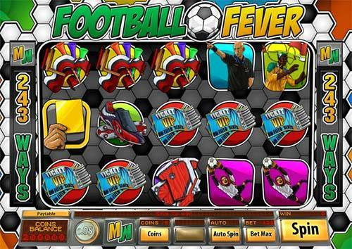 Football Fever videoslot