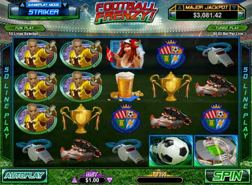 Football Frenzy videoslot