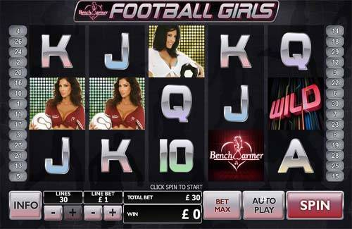 Football Girls videoslot