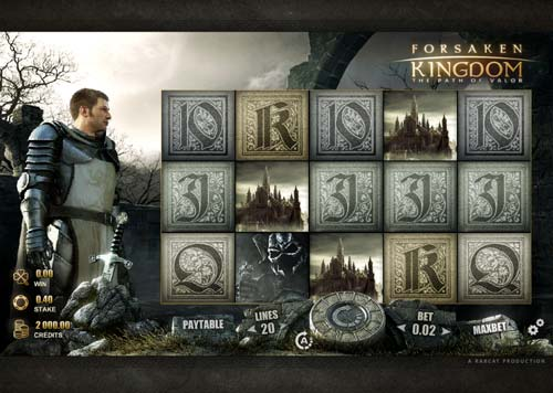 Forsaken Kingdom videoslot