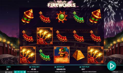 Fortune Fireworks videoslot