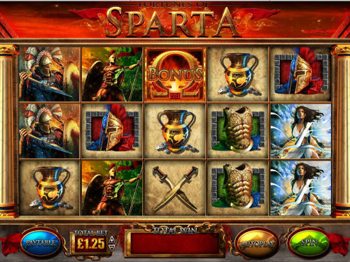 Fortunes Of Sparta videoslot