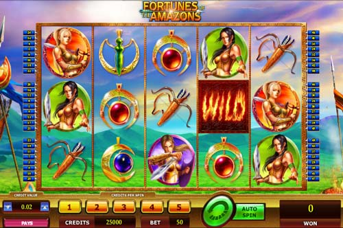 Fortunes of the Amazons free slot