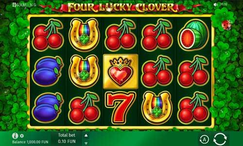 Four Lucky Clover videoslot