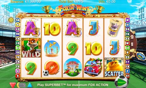 Foxin Wins Football Fever slot