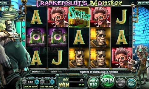 Frankenslots Monster videoslot