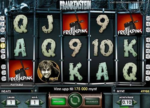 Frankenstein videoslot