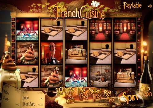 French Cuisine slot