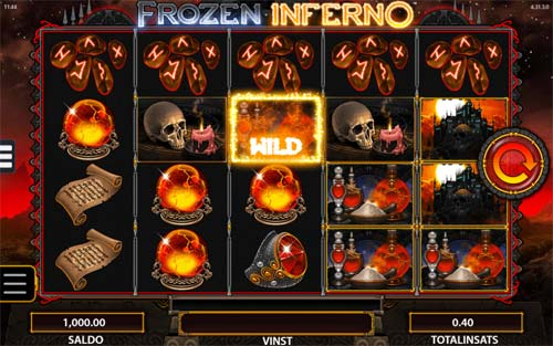 Frozen Inferno free slot