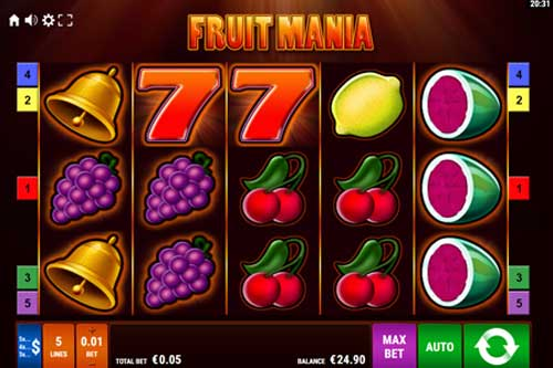 Fruit Mania free slot