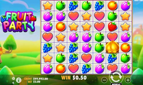 Fruit Party videoslot