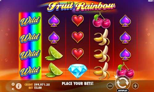Fruit Rainbow videoslot