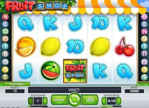 Fruit Shop free slot