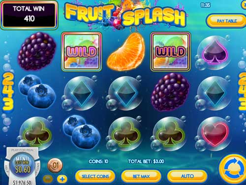 Fruit Splash videoslot