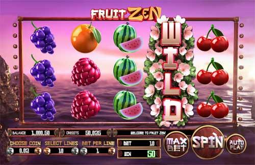 Fruit Zen videoslot