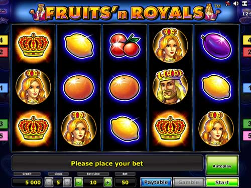 Fruits and Royals free slot