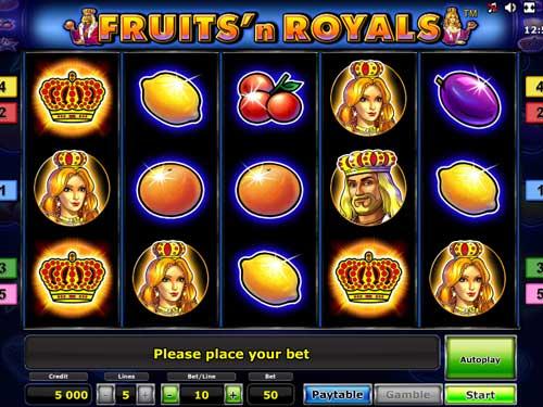 Fruits and Royals slot
