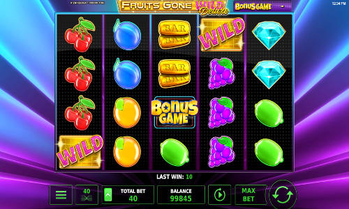 Fruits Gone Wild Deluxe slot