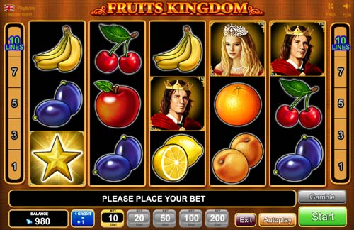 Fruits Kingdom videoslot