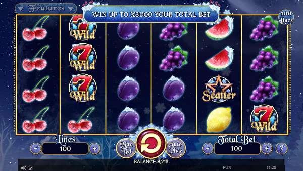 Fruits On Ice videoslot