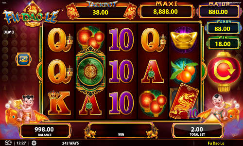 Double Dragons slots - Spela en gratis demoversion