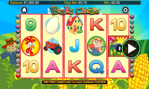 Funky Chicken free slot