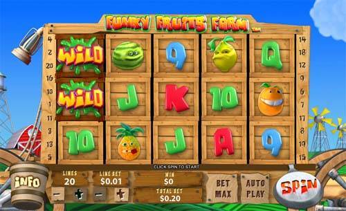 Play Funky Fruits Farm Online Pokies at Casino.com Australia