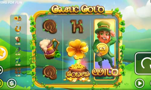Gaelic Gold videoslot
