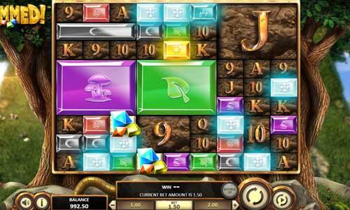 Gemmed casino slot