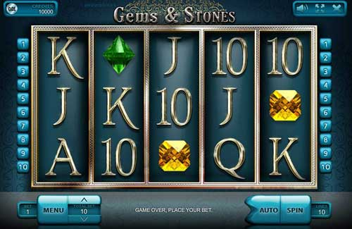 Gems and Stones videoslot