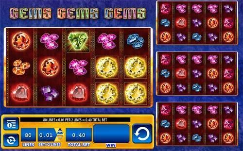 Gems Gems Gems videoslot