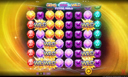 Gems Gone Wild Power Reels videoslot
