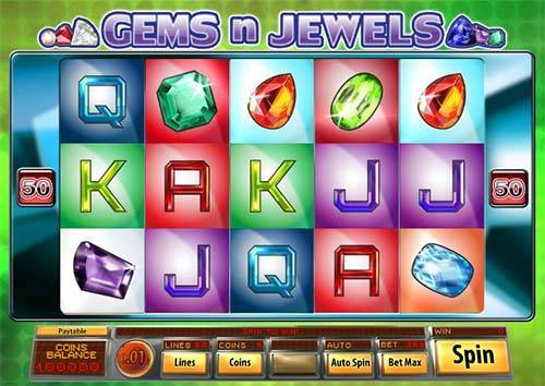Gems N Jewels videoslot