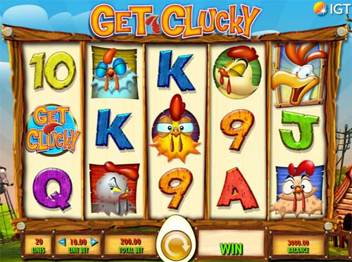 Get Clucky free slot