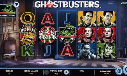 Ghostbusters Plus videoslot