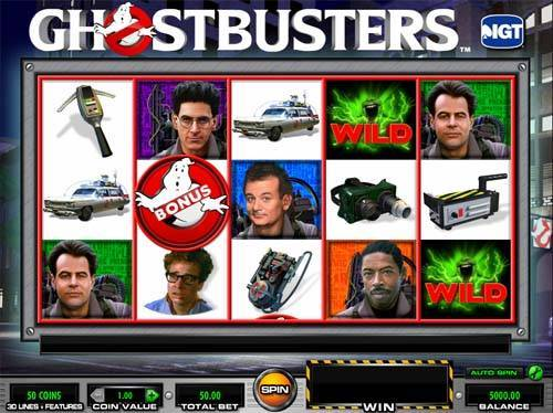 Ghostbusters free slot