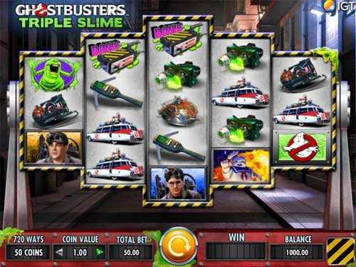Ghostbusters Triple Slime free slot